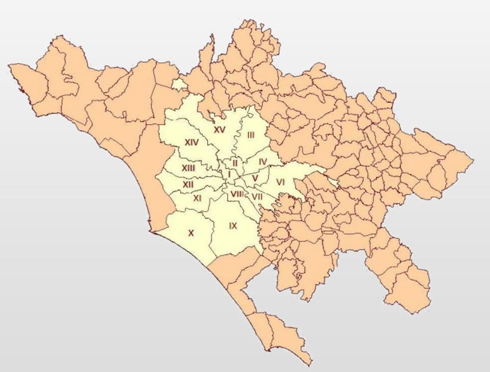 Cartina Citta Roma.Roma Invecchia E La Citta Metropolitana Cresce